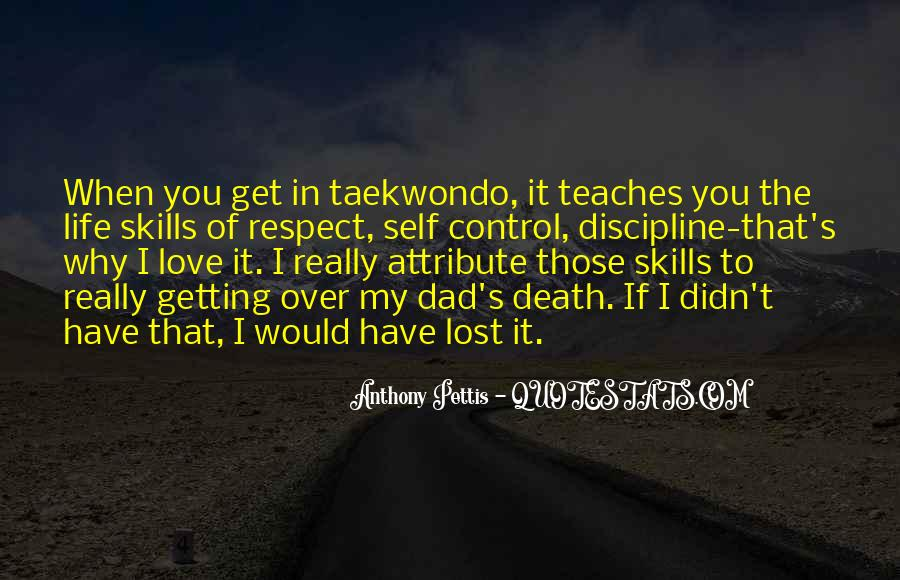 Respect Over Love Quotes #497704