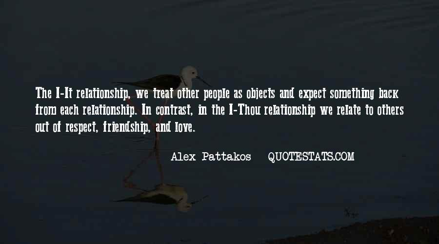 Respect Over Love Quotes #65049