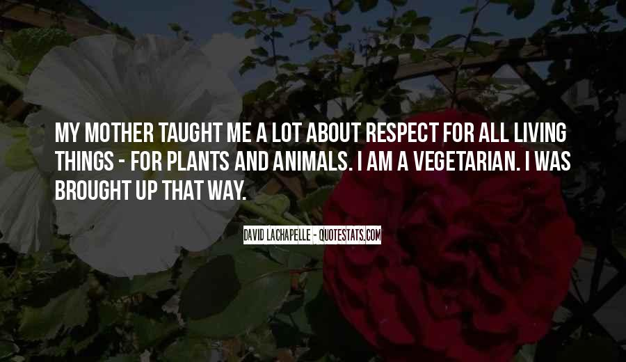 Respect The Animals Quotes #1408198