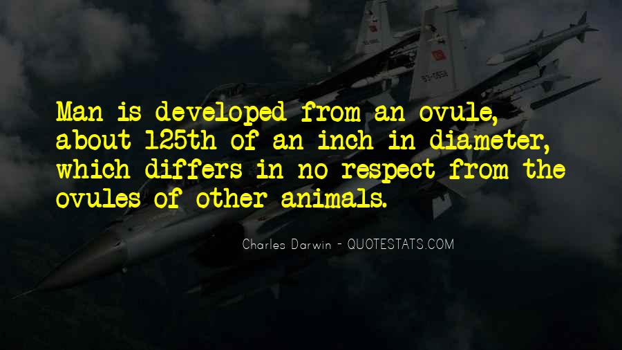 Respect The Animals Quotes #1459779