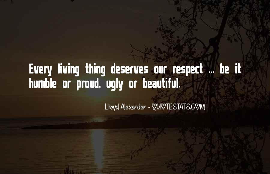 Respect The Animals Quotes #1523106