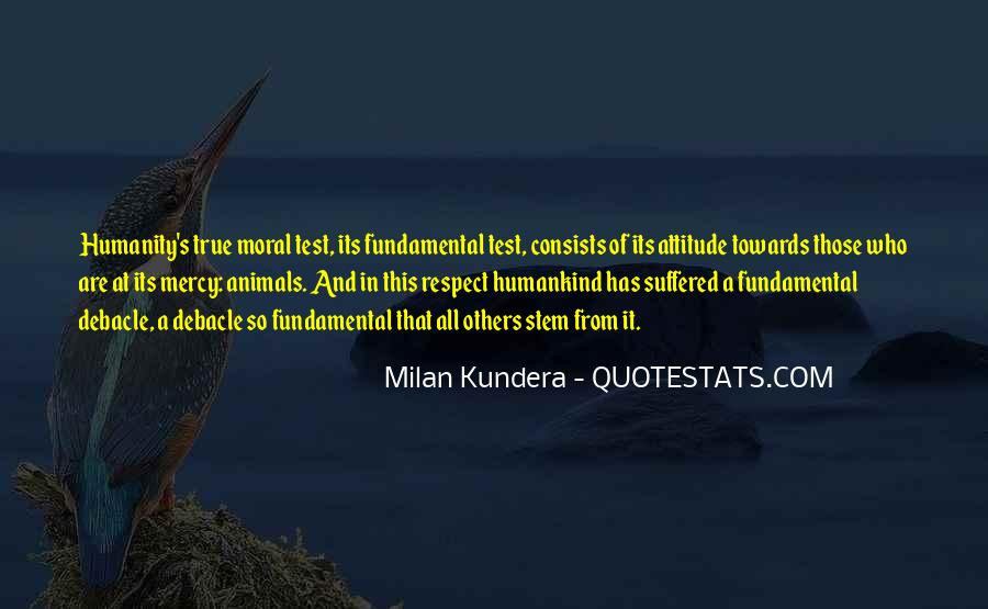 Respect The Animals Quotes #221993