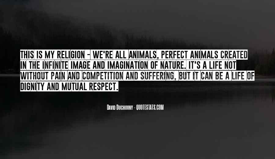 Respect The Animals Quotes #404120