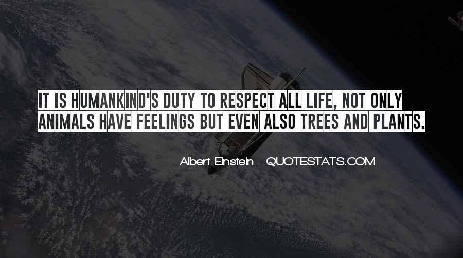 Respect The Animals Quotes #950848