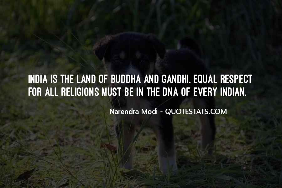 Respect To All Religions Quotes #1215214
