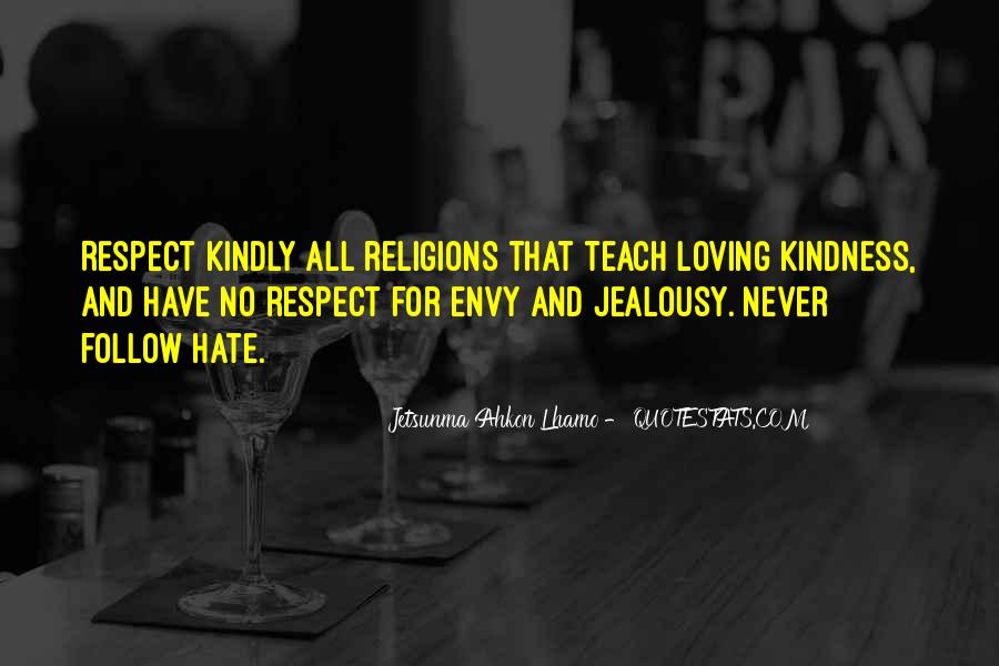 Respect To All Religions Quotes #1294707