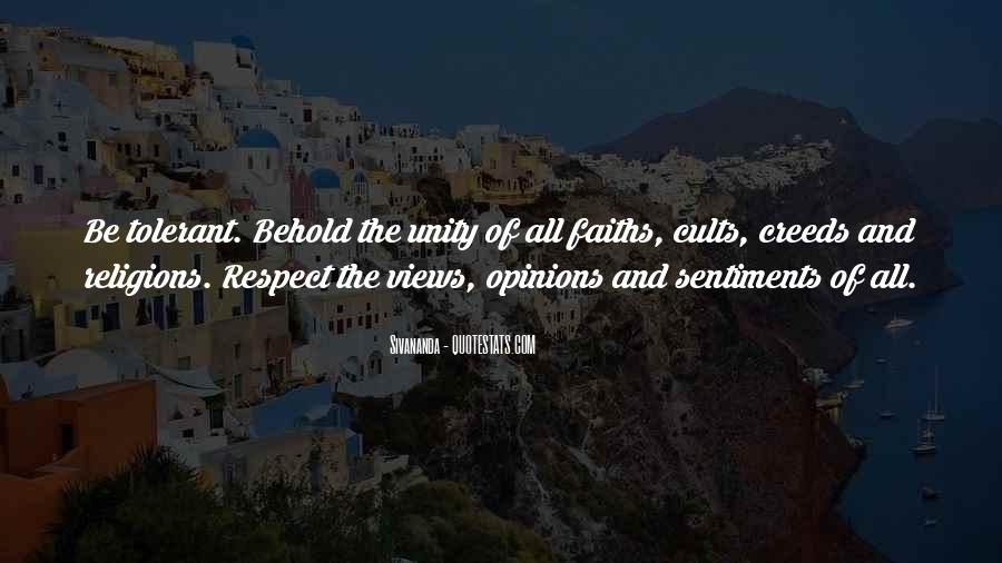Respect To All Religions Quotes #45598