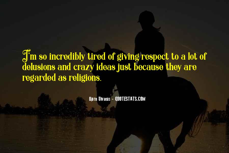 Respect To All Religions Quotes #511427