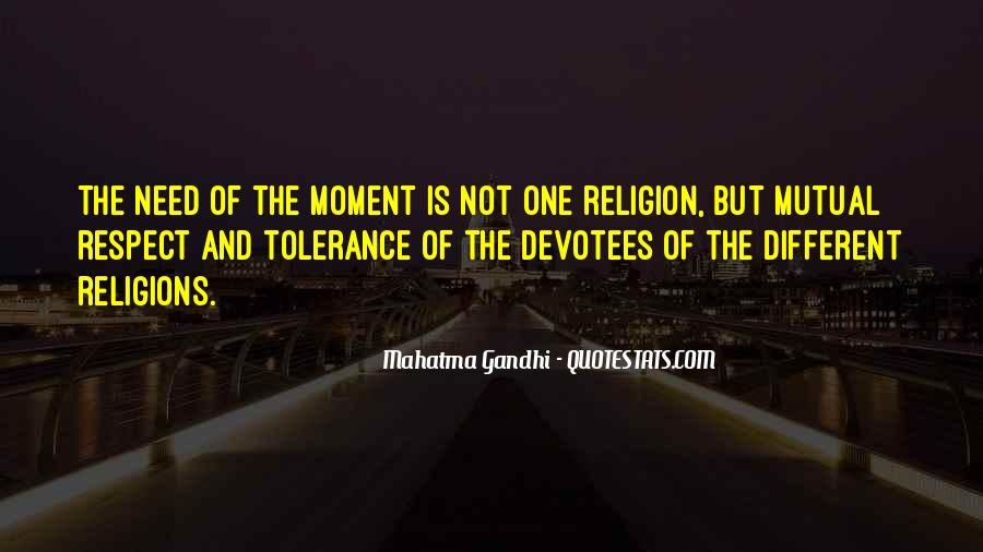 Respect To All Religions Quotes #754021