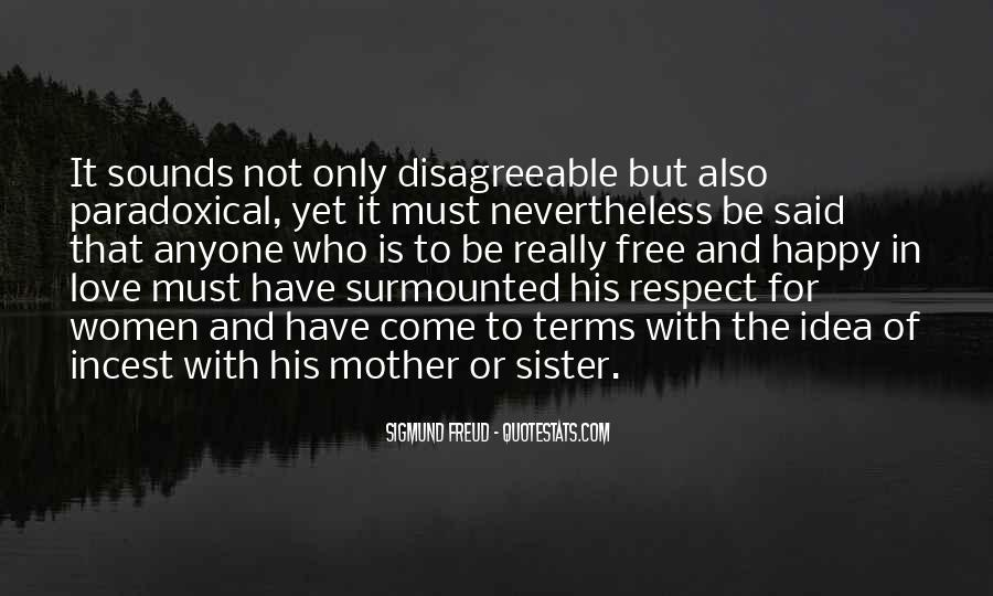 Respect Your Sister Quotes #932913