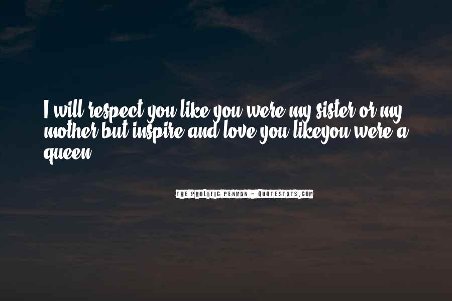 Respect Your Sister Quotes #998133