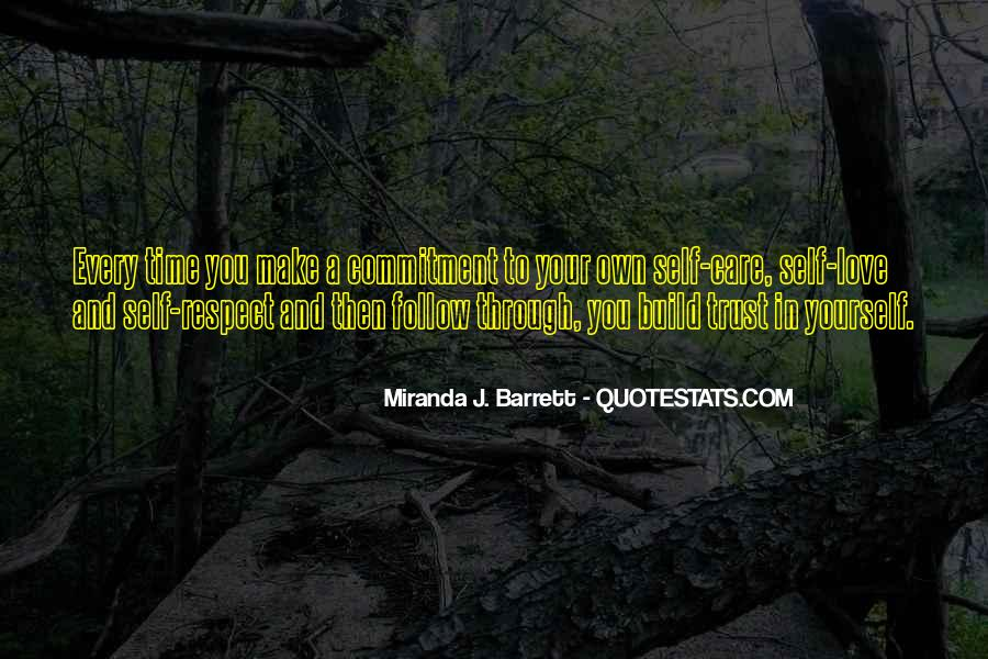Respect Your Time Quotes #1084530