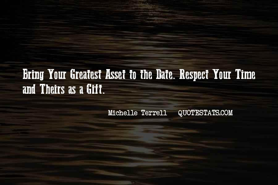 Respect Your Time Quotes #1257425