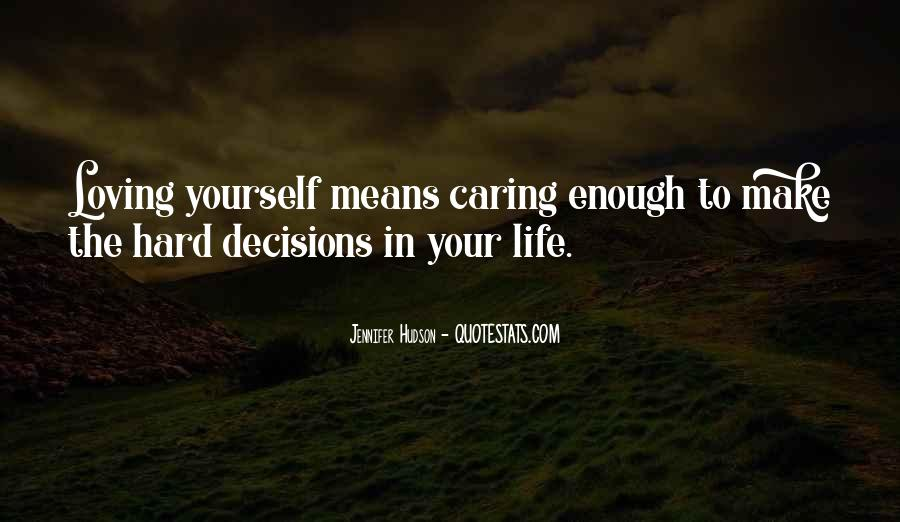 Respect Yourself Enough To Quotes #582052