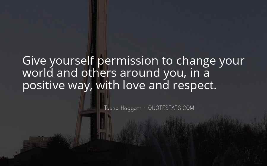 Respect Yourself Love Quotes #11437