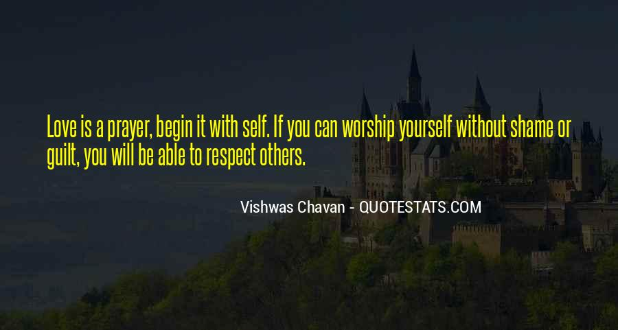 Respect Yourself Love Quotes #1233500