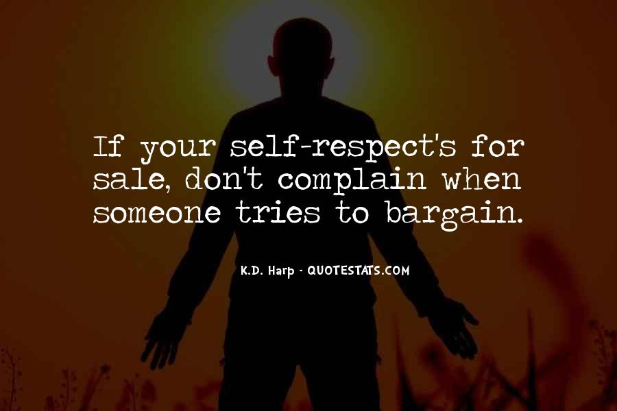Respect Yourself Love Quotes #1397037