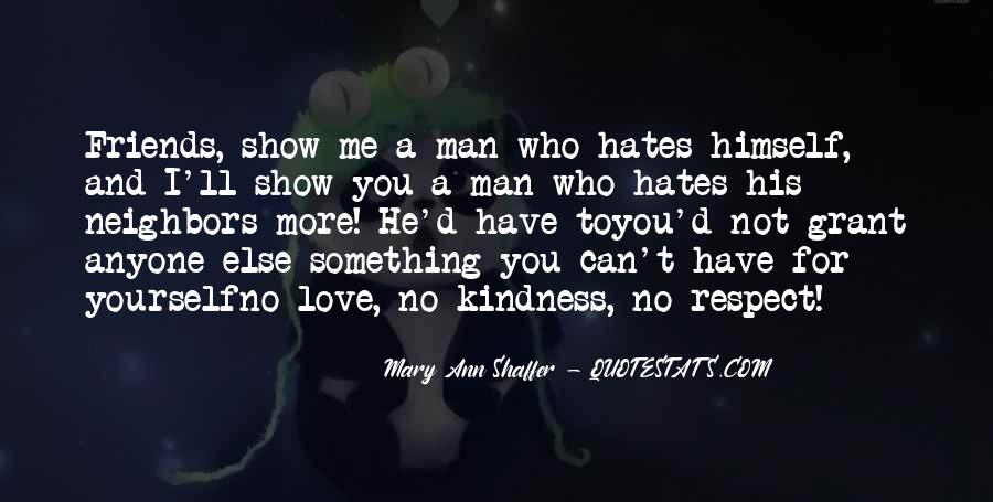 Respect Yourself Love Quotes #1412947