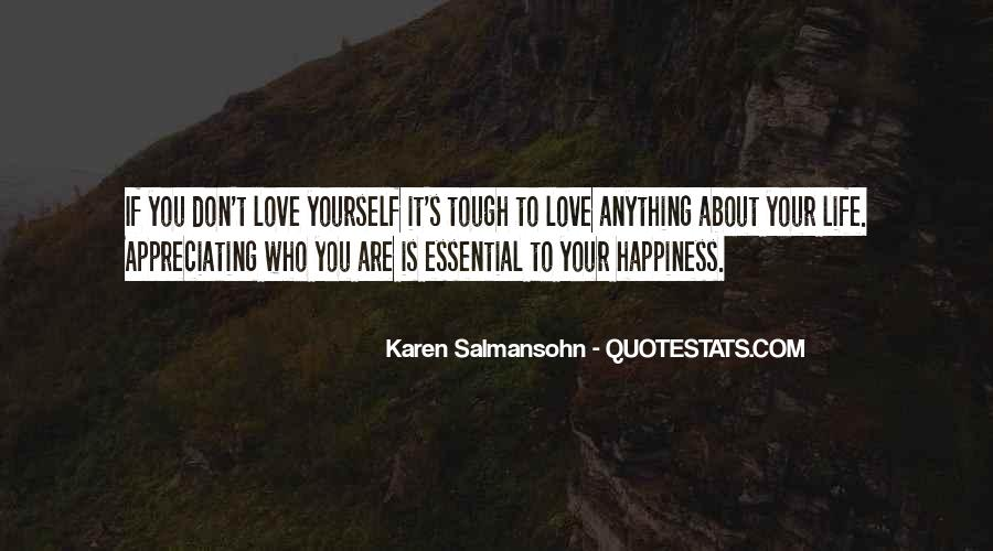 Respect Yourself Love Quotes #1645771