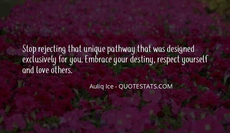 Respect Yourself Love Quotes #290385