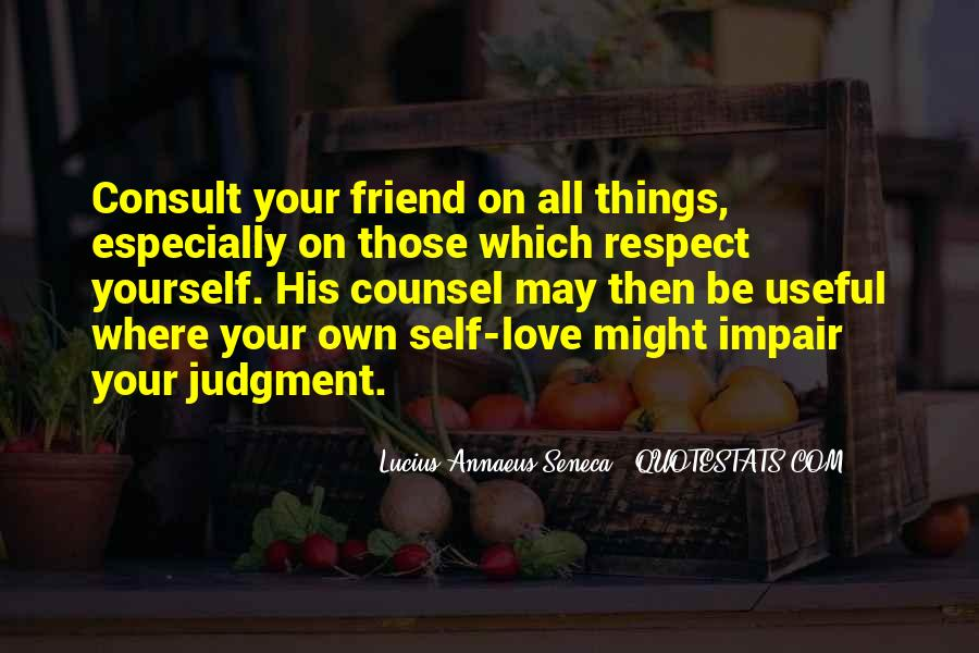 Respect Yourself Love Quotes #738618