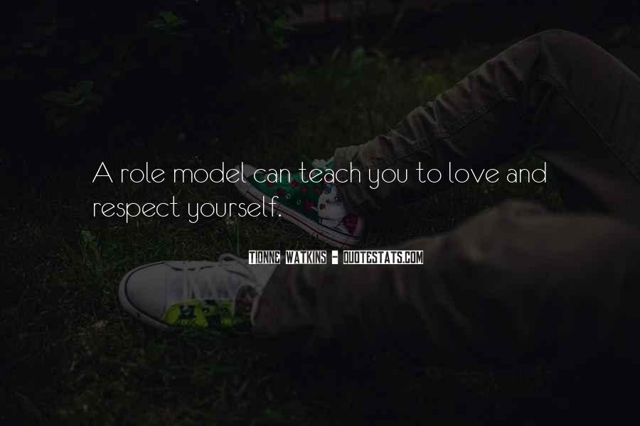 Respect Yourself Love Quotes #981749