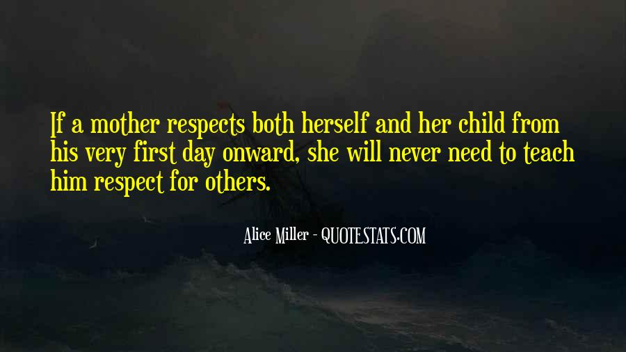 Respects Others Quotes #129610