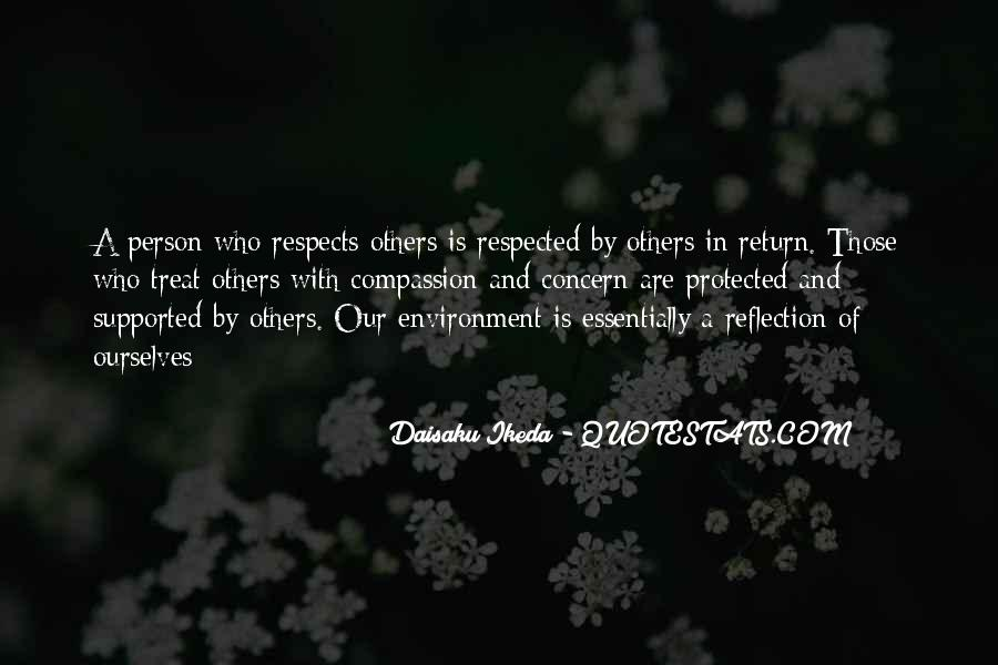 Respects Others Quotes #176413