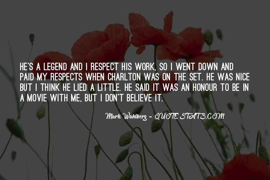 Respects Others Quotes #176551