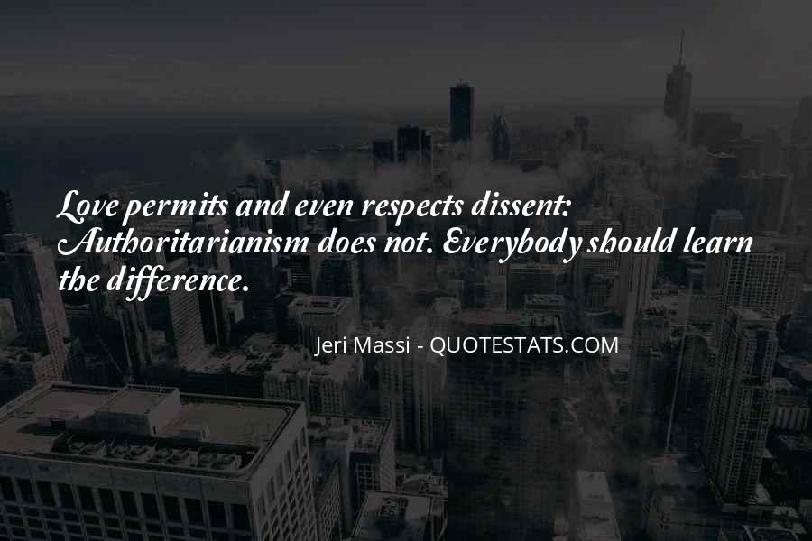 Respects Others Quotes #18975