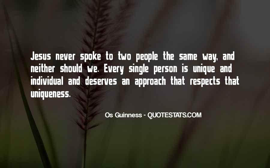 Respects Others Quotes #45