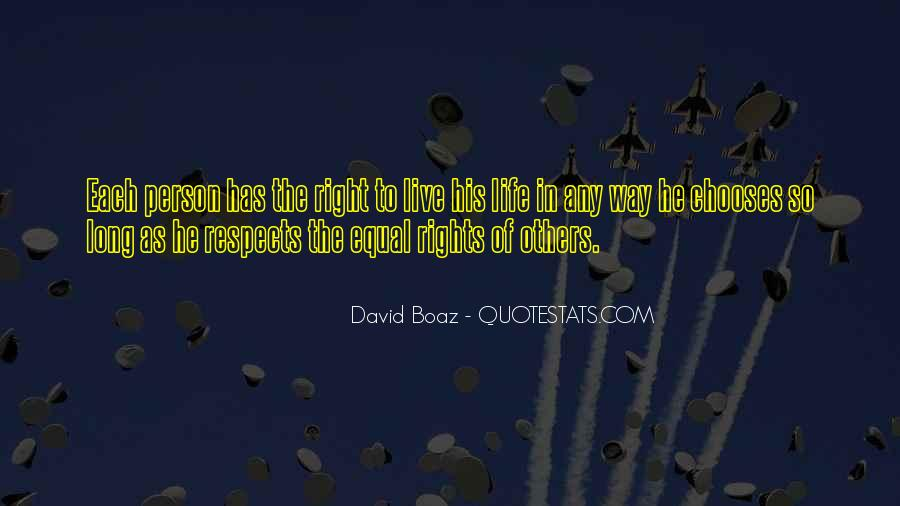 Respects Others Quotes #58124
