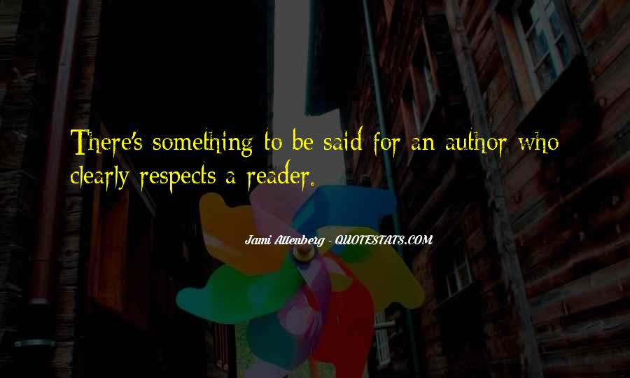 Respects Others Quotes #62274