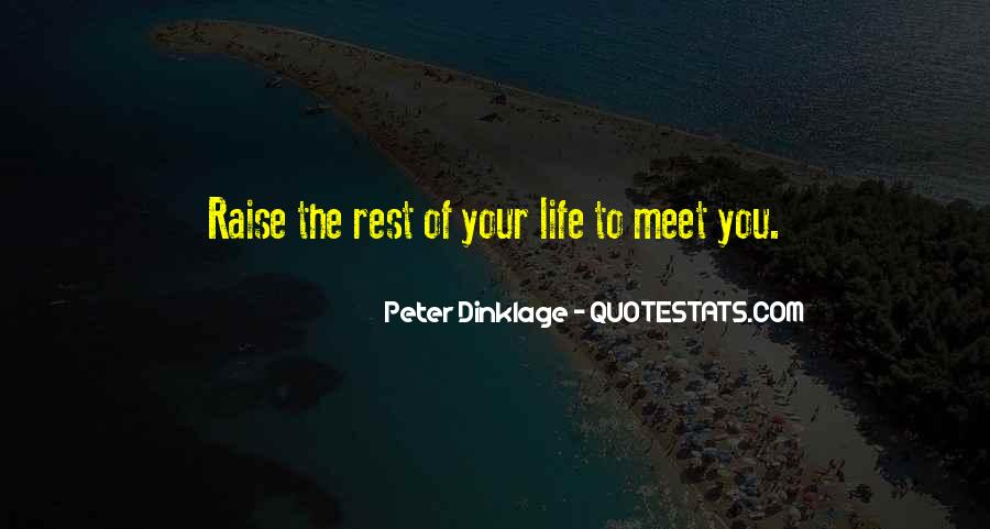 Rest Of Your Life Quotes #167639