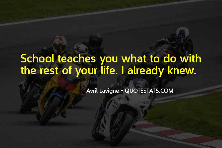 Rest Of Your Life Quotes #203509