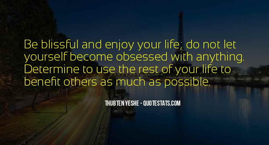 Rest Of Your Life Quotes #25267