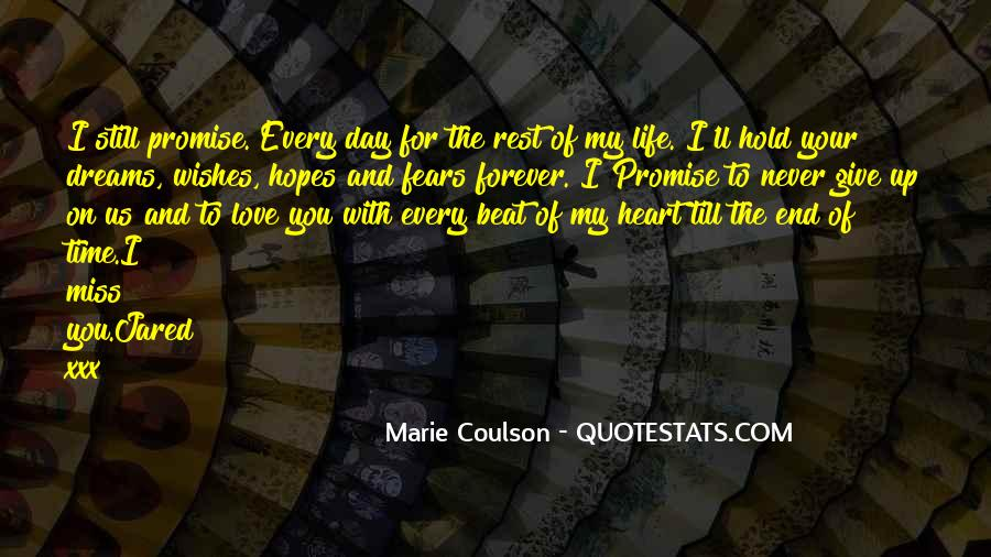 Rest Of Your Life Quotes #41947
