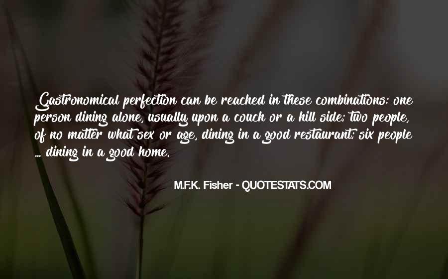 Restaurant Dining Quotes #1593221
