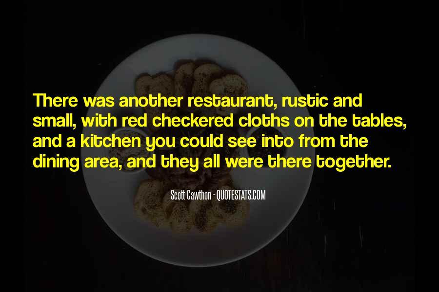 Restaurant Dining Quotes #1781714