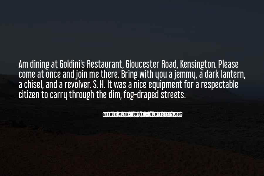 Restaurant Dining Quotes #225023
