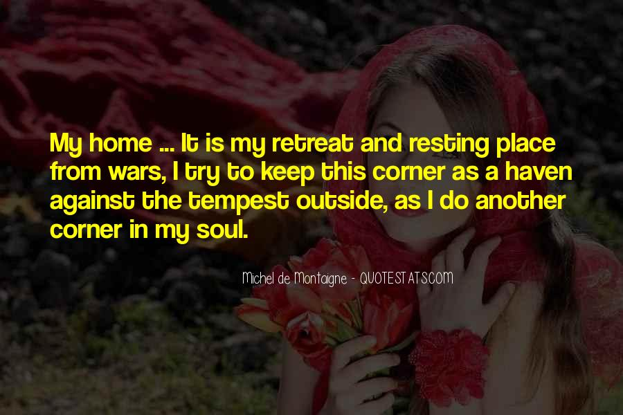 Resting Home Quotes #991908