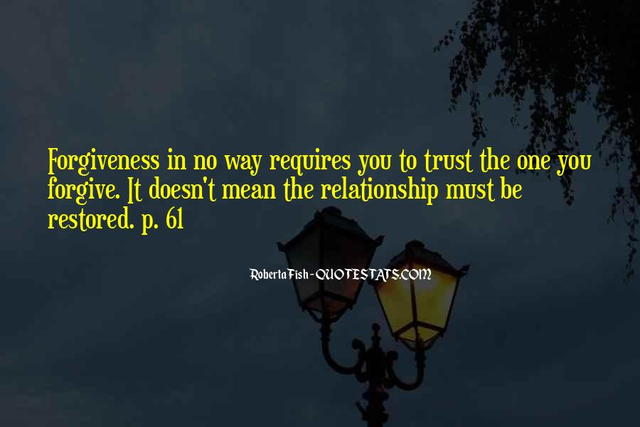 Restored Relationship Quotes #1015101