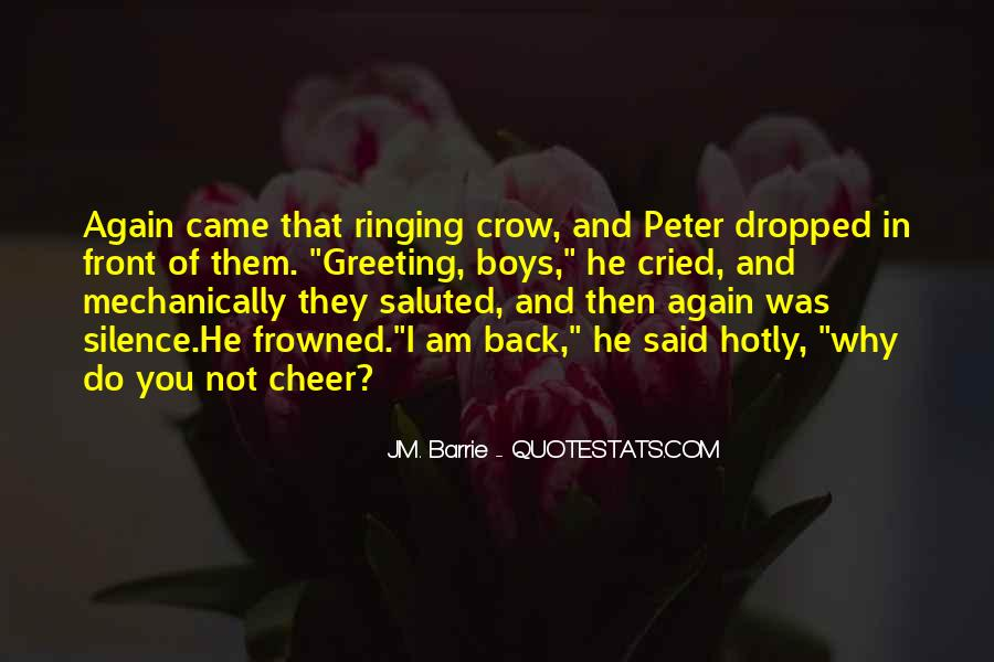 Return To Neverland Quotes #1864378
