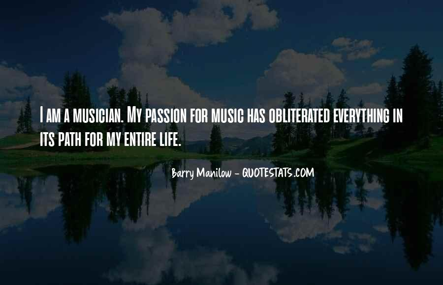 Quotes About Barry Manilow #1274737