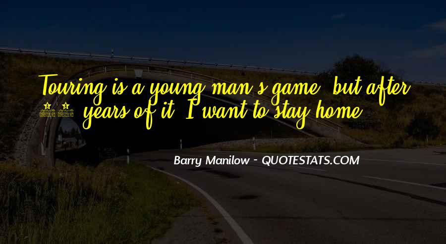 Quotes About Barry Manilow #1420878