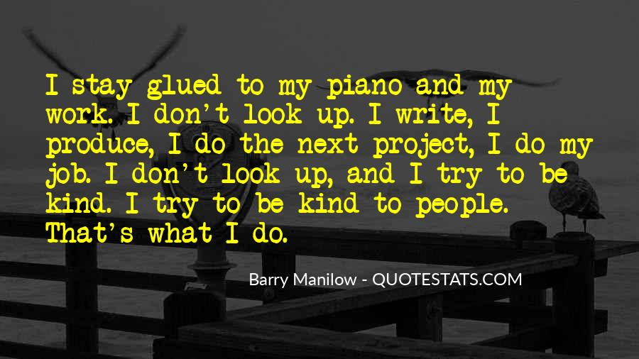 Quotes About Barry Manilow #684044