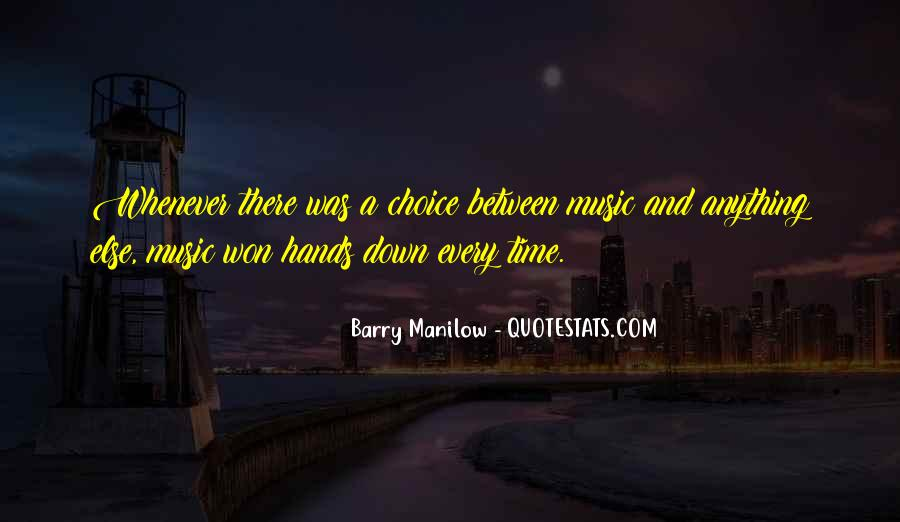 Quotes About Barry Manilow #949814