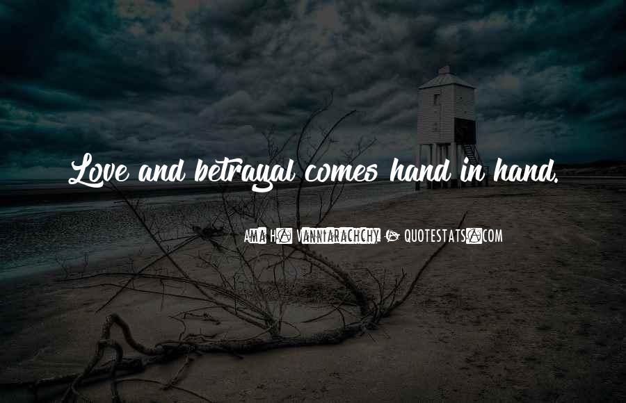Revenge Betrayal Quotes #116506
