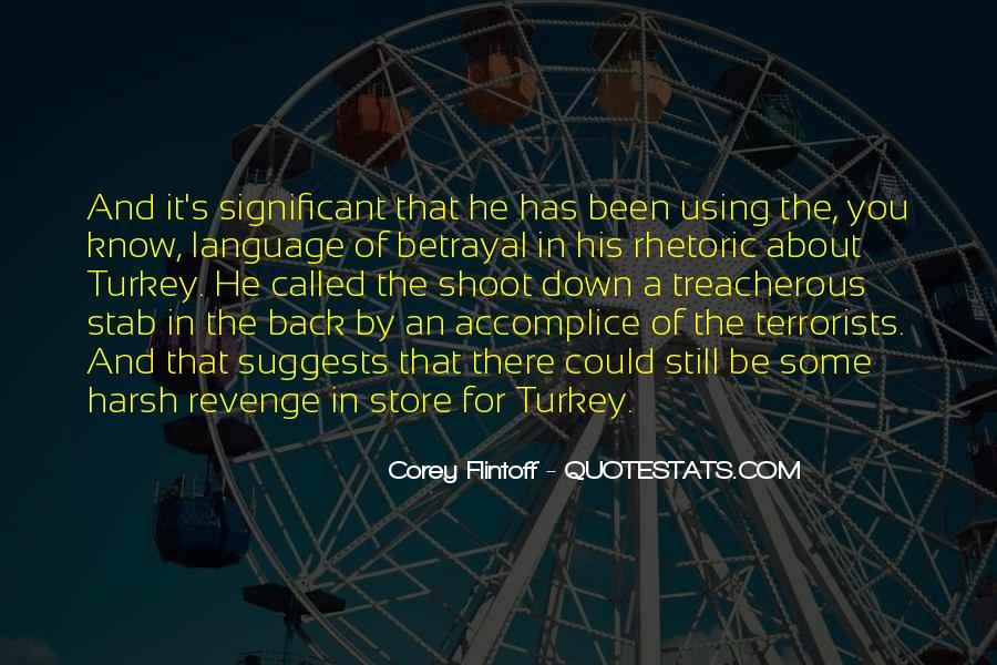 Revenge Betrayal Quotes #92123