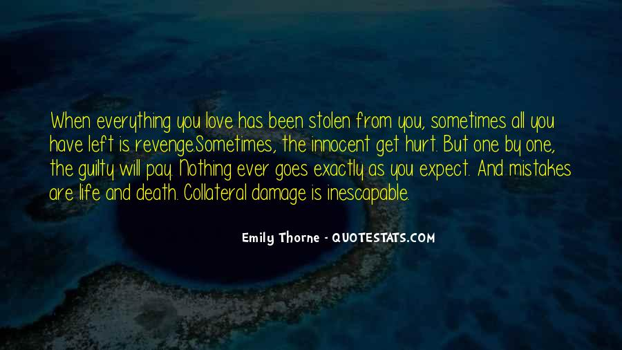 Revenge From Love Quotes #1222631